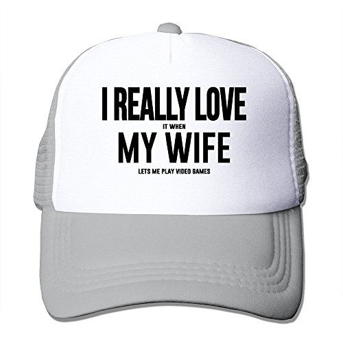 Price comparison product image I Love It When My Wife Lets Me Play Video Games Hat Driver Cap
