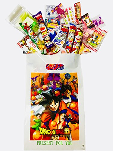 RAPID-Japanese Candy Gift Box -''Dagashi'' snack with Japanese anime bag