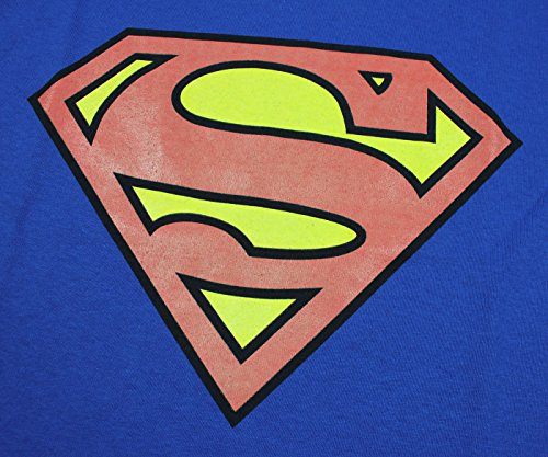 Superman Boys Glow In The Dark Youth T-shirt (Small)
