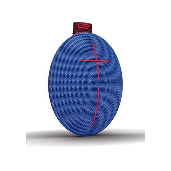 Ultimate EarsROLL2 Enceinte Bluetooth Ultraportable avec Flotteur, Waterproof et Antichoc - Bleu/Rouge 2