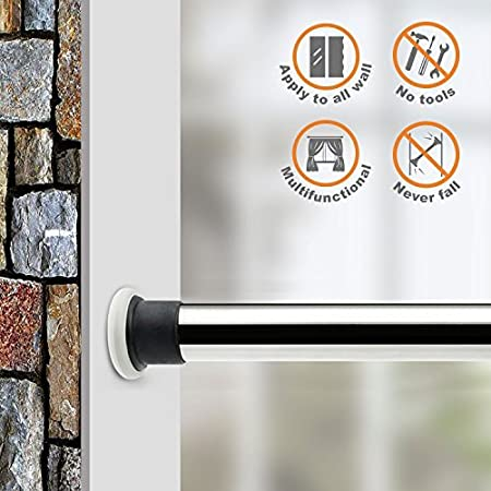 ALLZONE Tension Shower Curtain Rod, 28-41Inch 76210