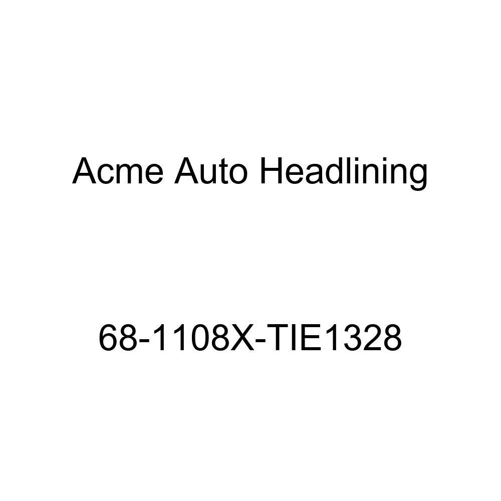 Acme Auto Headlining 68-1108X-TIE1328 Red Replacement Conversion Headliner Buick Electra 225 4 Dr Sdn w//Original Board Headliner