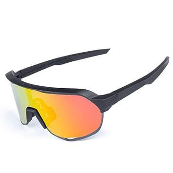 YXCXC Gafas De Montar Polarizadas Bicicleta A Prueba De Viento Gafas De Equitación Conducción De Bicicletas