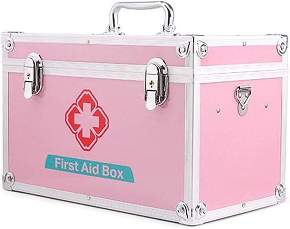 Byrhgood Botiquín de Primeros Kit de Primeros Auxilios con Cerradura Caja de Almacenamiento Médico, Emergencia de la Supervivencia Kit de Bolsa (Size : 14inch): Amazon.es: Hogar