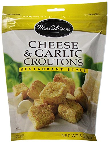 (Mrs. Cubbison's Restaurant Style Croutons, Cheese and Garlic, 5 oz)