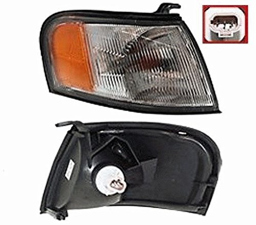 Discount Starter and Alternator NI2521113 Nissan Sentra Passenger Side Replacement Headlight Plastic Lens With Bulbs (95 Nissan Sentra Alternator compare prices)