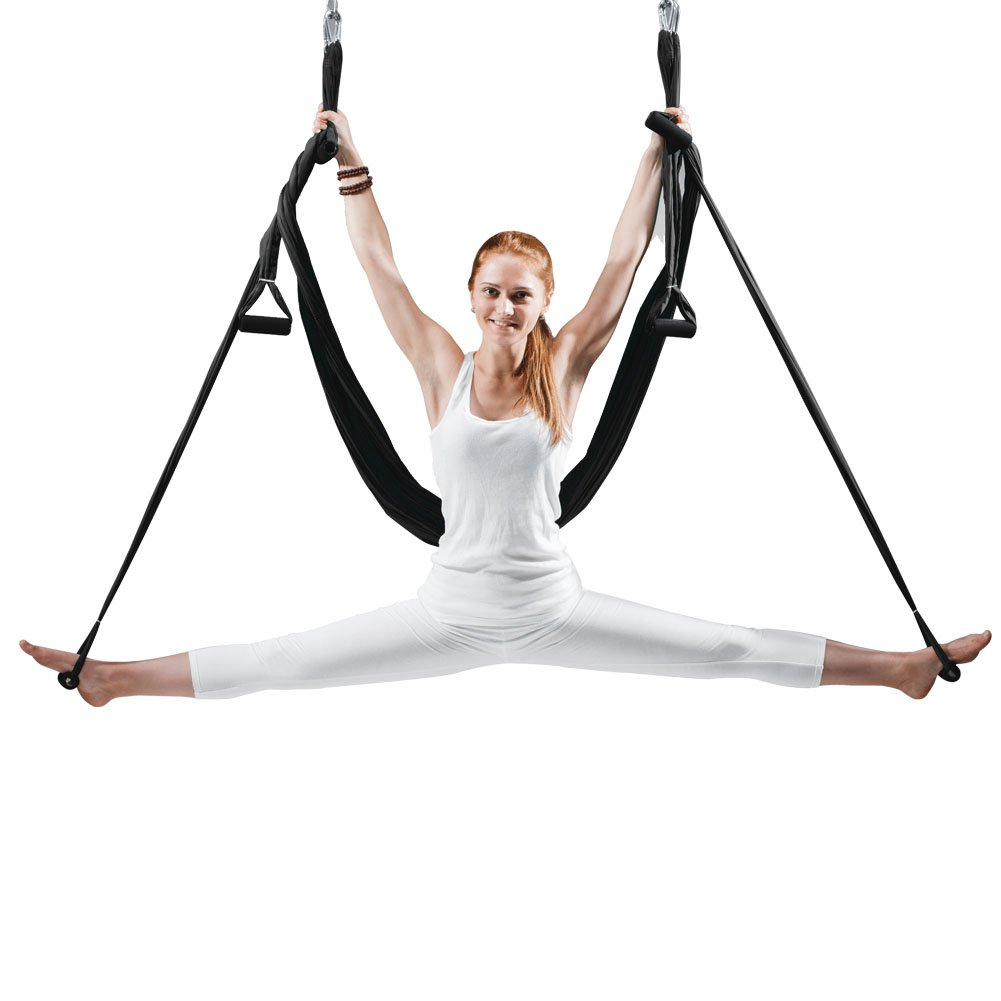 EUROSPORTS High Load Capacity Aerial Yoga Swing/Inversion/ Hammock/Sling for Flying Antigravity with a Carrying Bag