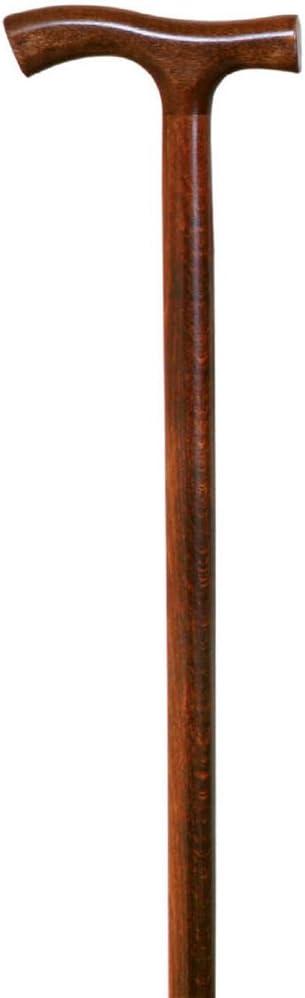 Bastón de madera marrón de Queraltó