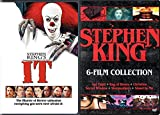 Kings Horror Film Collection Stephen It + Apt Pupil / Bag of Bones / Christine / Secret Window / Sleepwalkers / Stand By Me DVD Movie Chilling Master of Suspense