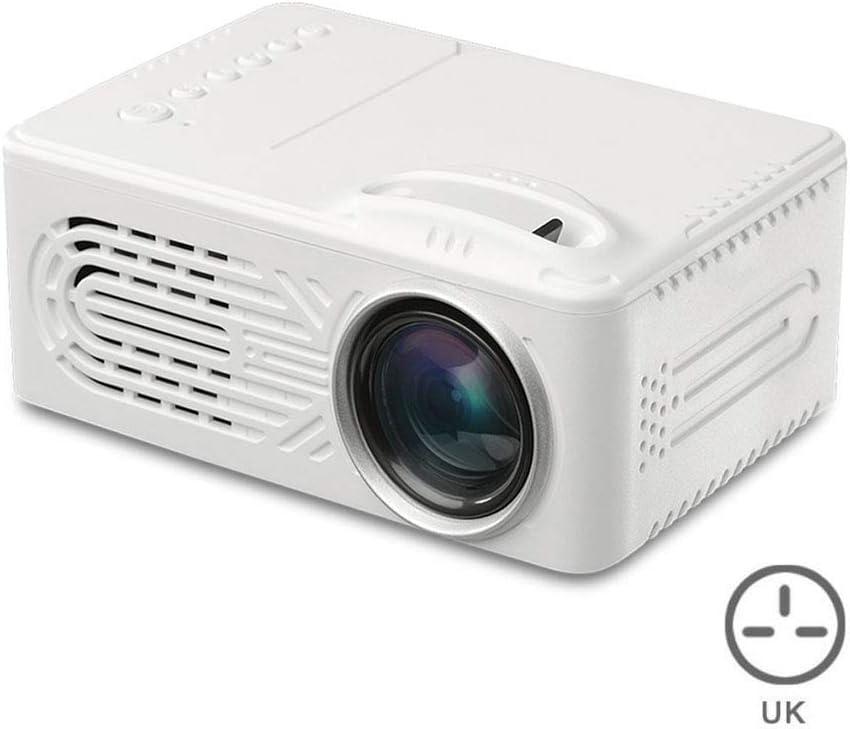 Herewegoo - Proyector portátil 7000 lúmenes 3D 1080P 4K Full HD ...