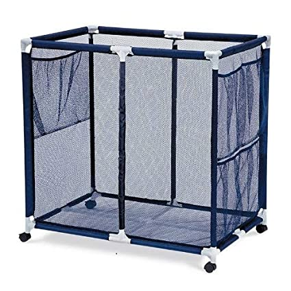 Merveilleux Essentially Yours Pool Floats, Toys, Balls And Equipment Mesh Rolling  Organizer Storage Bin,