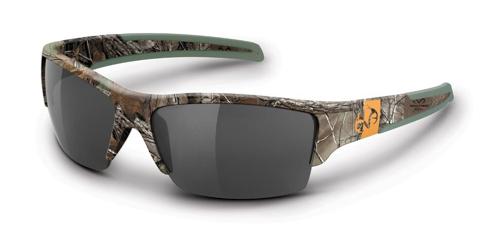 Realtree Xtra Camo Ramrod Sunglasses Green Smoke Polarized