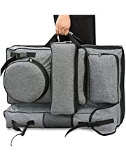 Art Portfolio Case,4K Canvas Artist Backpack Waterproof Art Carrying Bag Tote Artist Students Travel Bag for Drawing Board Sketching Tools Organizer