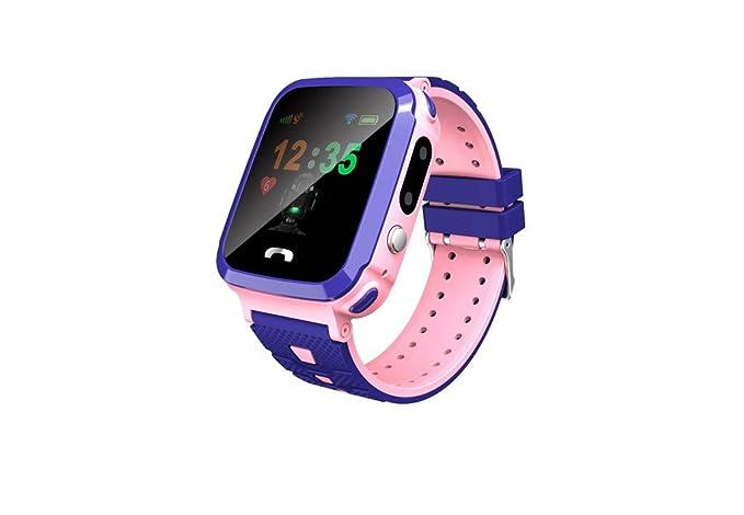STRIR Niños Smartwatch Relojes,LBS Tracker Telefono de Alarma SOS ...