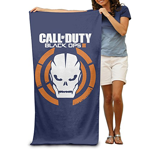 LCYC Call Of Duty Black Ops III 3 Adult Colorful Beach Or Pool Bath Towel 80cm*130cm