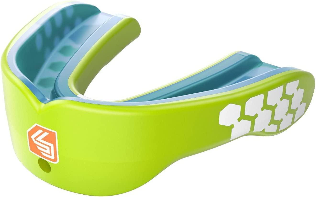 Lacrosse, Details about  /Shock Doctor Gel Max Mouth Guard Sports Mouthguard for Football