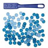 Magnetic Bingo Wand with 100 Metallic Bingo Chips by Royal Bingo Supplies