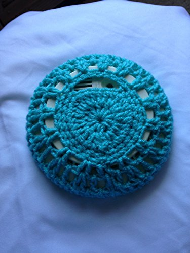Smoke Detector Cover crochet handmade blue multiple colors available (Detector Cover)