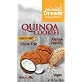 Andean Dream Quinoa Cookies, Coconut, Gf, 7-Ounce (Pack of 3) by Andean Dream