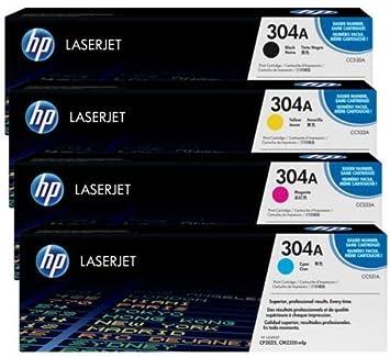 hp 4 color laserjet toner cartridge set for cp2025 u0026 cm2320 series