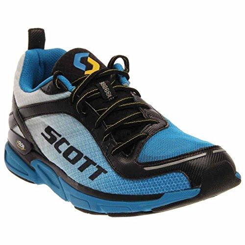 Scott Eride Support - SCOTT Running Men's Eride Support 2-M, White/Blue, 13 D US