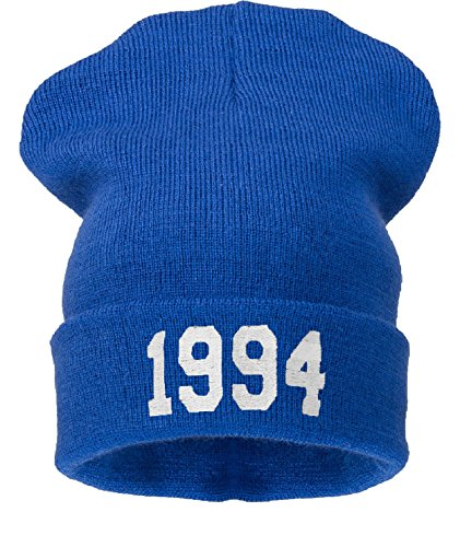 4sold Azul Negro Sombrero 1994 Talla Hombres Blanco Universal ppafA
