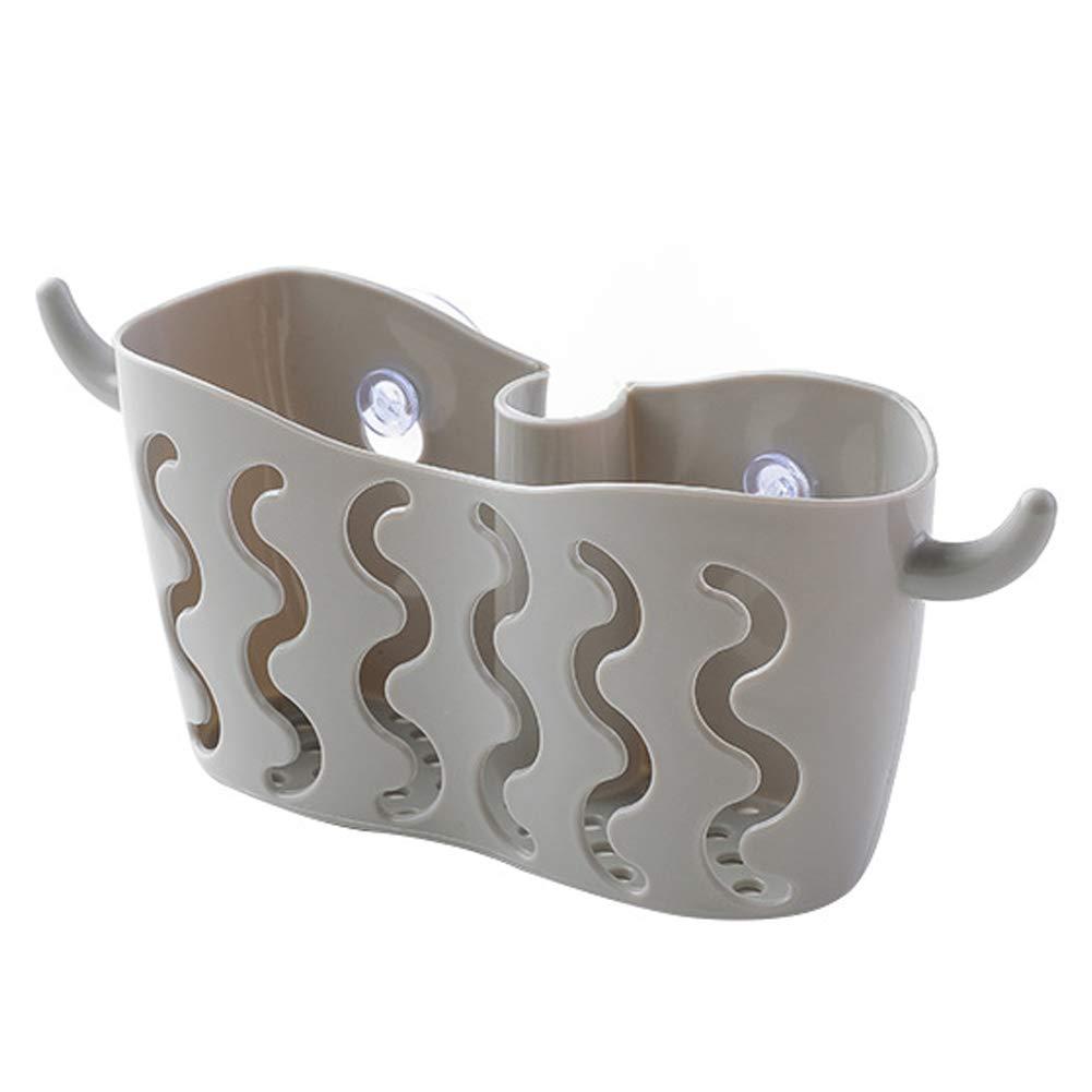 SELUXU Succi/ón cocina y ba/ño cesta de almacenamiento jab/ón esponja drenar soporte estante colgante cesta cocina Organizador