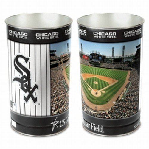 Wincraft MLB Chicago White Sox 15 Waste Basket, Team Color, One Size ()