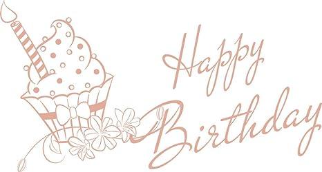 GRAZDesign Küchentattoo Happy Birthday - Wandtattoos für die ...