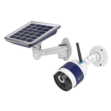 FREECAM Cámara WiFi Solar Cámara IP de Seguridad para el hogar verdaderamente inalámbrica activada por Movimiento
