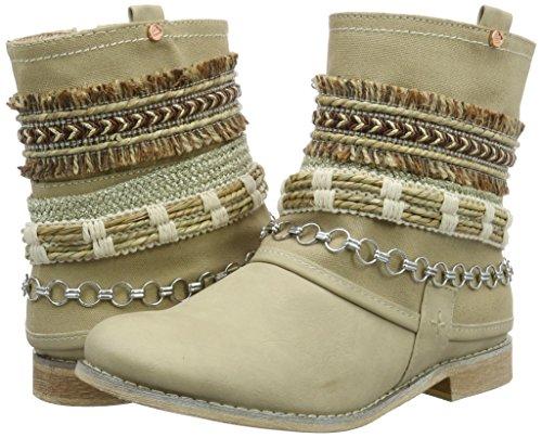Ankle Boots Da Bullboxer Motociclista cream Beige Stivali Donna zd7T5qw