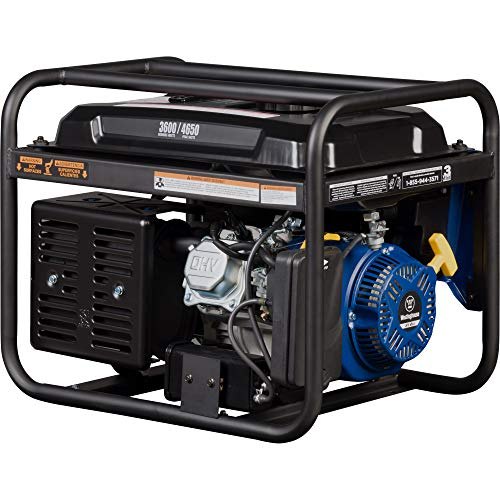 Portable generator with up to 18 hours of run time
