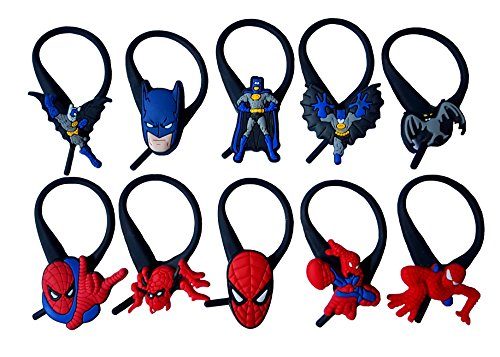 [AVIRGO 10 pcs Soft Zipper Pull Charms for Jacket Backpack Bag Pendant Set # 122 - 3] (Batman Forever Catwoman Costume)