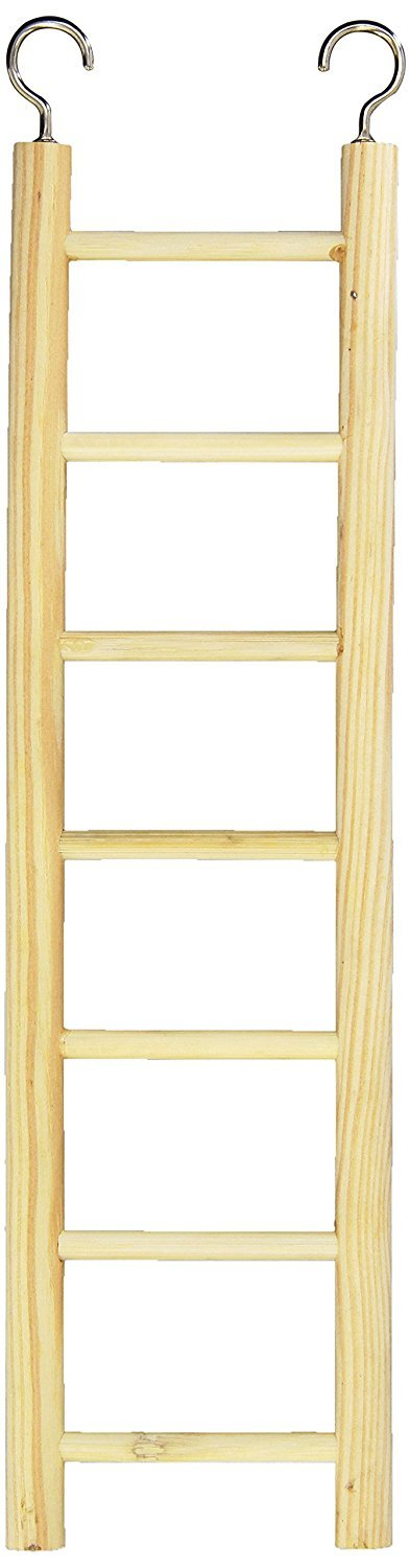 Birdie Basics Wood Ladders 3pcs Combo Pack (Includes One 7-Step Ladder, One 9-Step Ladder, and One 11-Step Ladder) by Birdie Basics