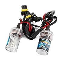 2pcs 6000K White H11 HID Xenon Bulb Lamp Light Headlamp Kit for Car