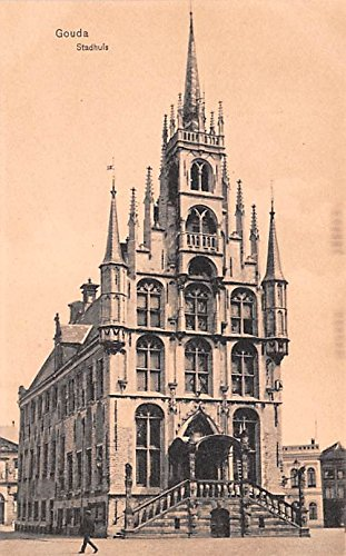 Stadhuis Gouda Holland Postcard