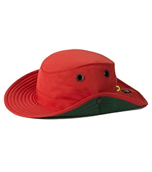 9e887d90ed9 Amazon.com  Tilley TWS1 Paddlers Hat Red 7  Sports   Outdoors