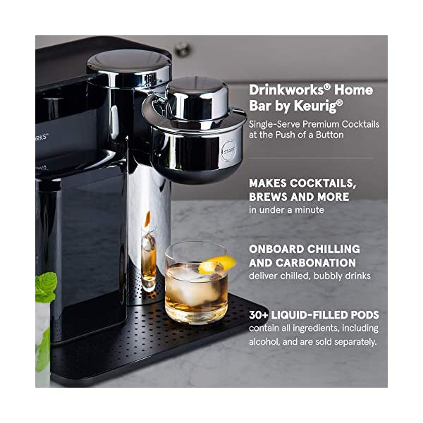 Drinkworks Home Bar by Keurig: Cocktails, Brews, Wines and More 2