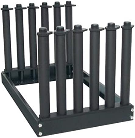 9 Lite Slot Rack AA-Racks GM301U Windshield Rack Foam Pads Auto Glass Truck Cargo Management Rack with 22 Inch High Masts