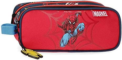 Estuche Spiderman Pop Dos Compartimentos: Amazon.es: Equipaje