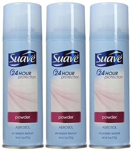 Suave Suave Anti-Perspirant Deodorant Spray Powder, 4 oz (Pack of 2) by Suave - Suave Spray Baby Powder