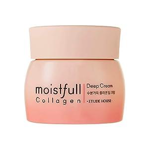 ETUDE HOUSE Moistfull Collagen Deep Cream 75ml (Renewal) - Skin Care Facial Moisturizing Cream - Anti-Aging Wrinkle-Repair for Women
