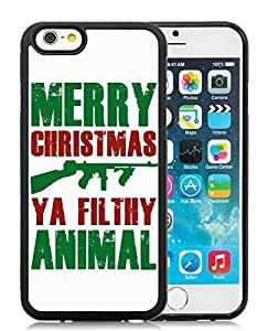 2014 Latest For Iphone 5/5S Cover Case,Merry Christmas Black For Iphone 5/5S Cover TPU Case 20