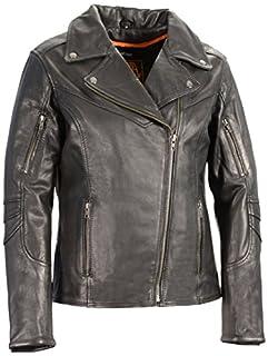 Milwaukee Leather Women's Vented Motorcycle Jacket (Black, Medium) (B01CSIHFDG) | Amazon Products