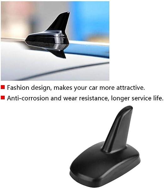 Duokon Car Shark Fin Außendachantenne Dekoration Für A3 2016 2018 3897ziy Schwarz Auto