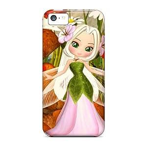 Premium Glenda Fairy Back Cover Snap On Case For Iphone 5c