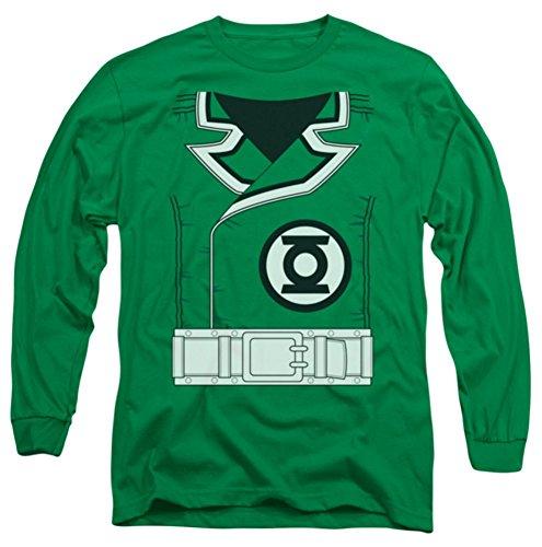 Green Lantern Guy Gardner Costume Long Sleeve (Guy Gardner Costume)