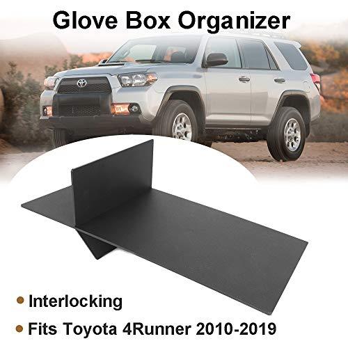 Issyzone Fits 2009-2010 Toyota 4Runner Glove Box Organizer -