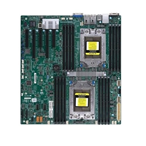 (Supermicro MBD-H11DSI-NT-O Socket SP3/ System On Chip/ DDR4/ SATA3&USB3.0/ V&2Gbe/ EATX Motherboard)
