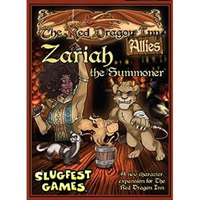 Red Dragon Inn: AlliesZariah The Summoner Card Game: Toys & Games